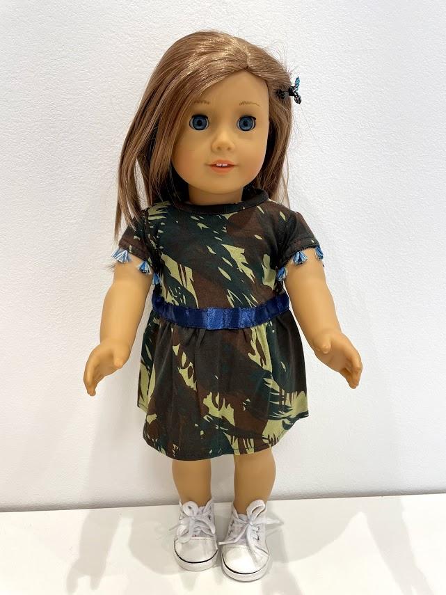 Vestido para American Girl ou Our Generation (0257)