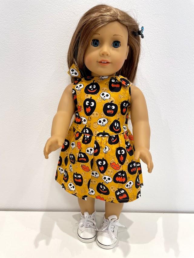 Vestido para American Girl ou Our Generation (0258)