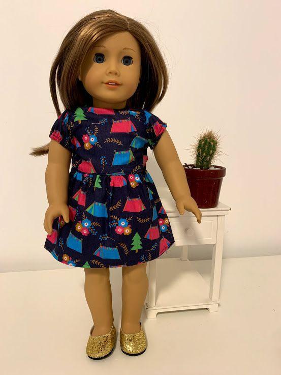 Vestido para American Girl ou Our Generation (0011)
