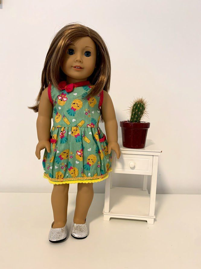 Vestido para American Girl ou Our Generation (0002)