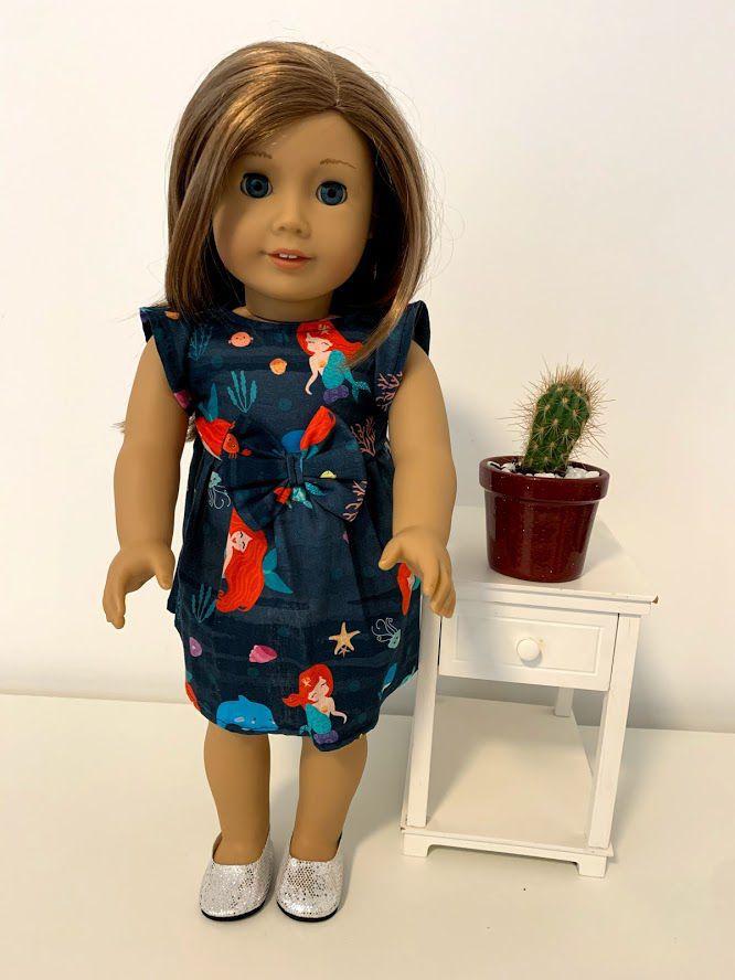 Vestido para American Girl ou Our Generation (0018)