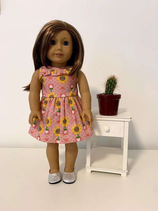 Vestido para American Girl ou Our Generation (0019)