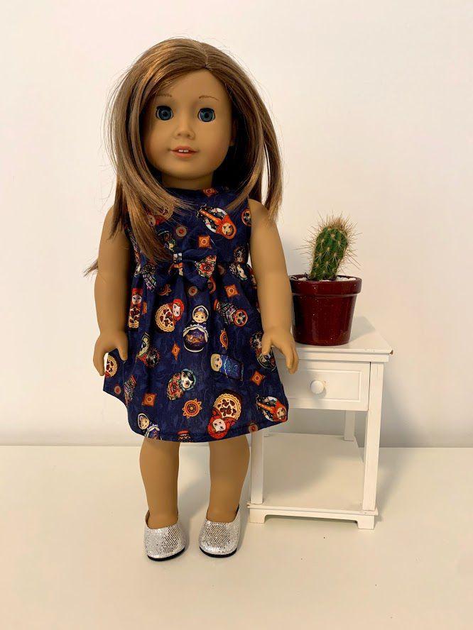 Vestido para American Girl ou Our Generation (0004)