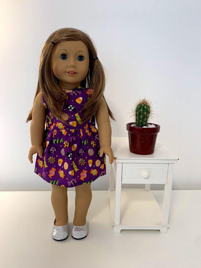 Vestido para American Girl ou Our Generation (0034)