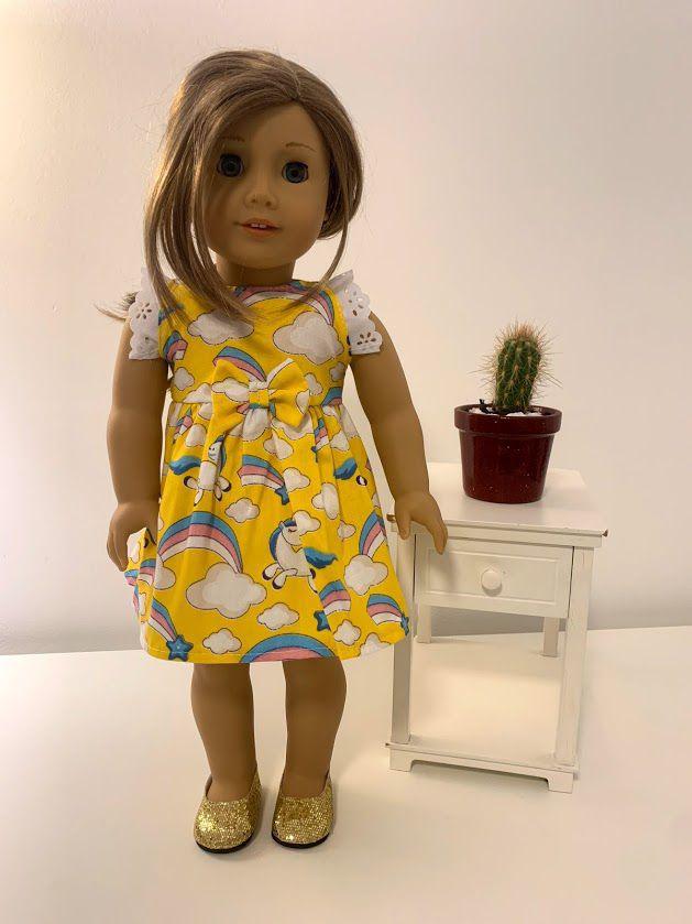 Vestido para American Girl ou Our Generation (0027)