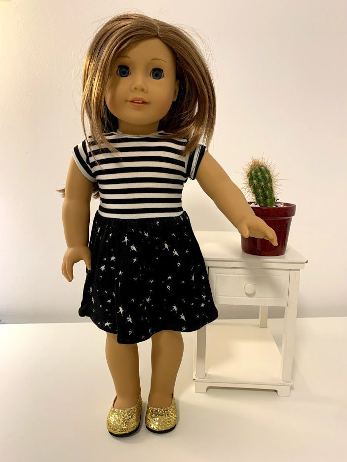 Vestido para American Girl ou Our Generation (0005)