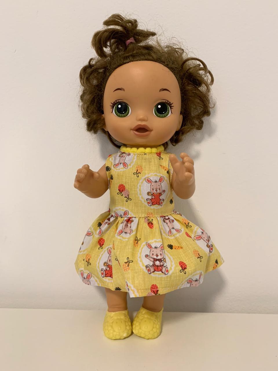 Vestido para Baby Alive (0035)