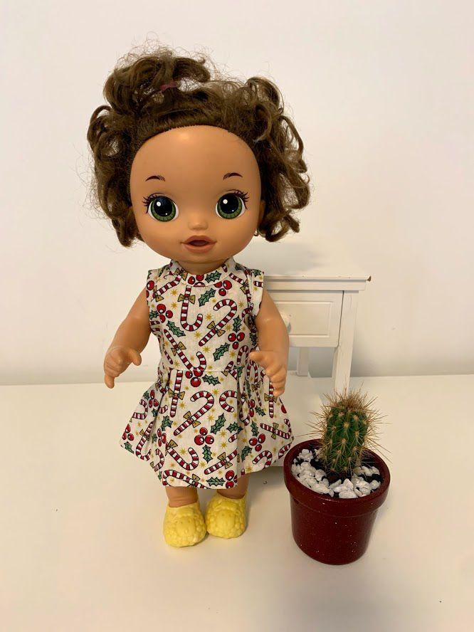 Vestido para Baby Alive (0044)