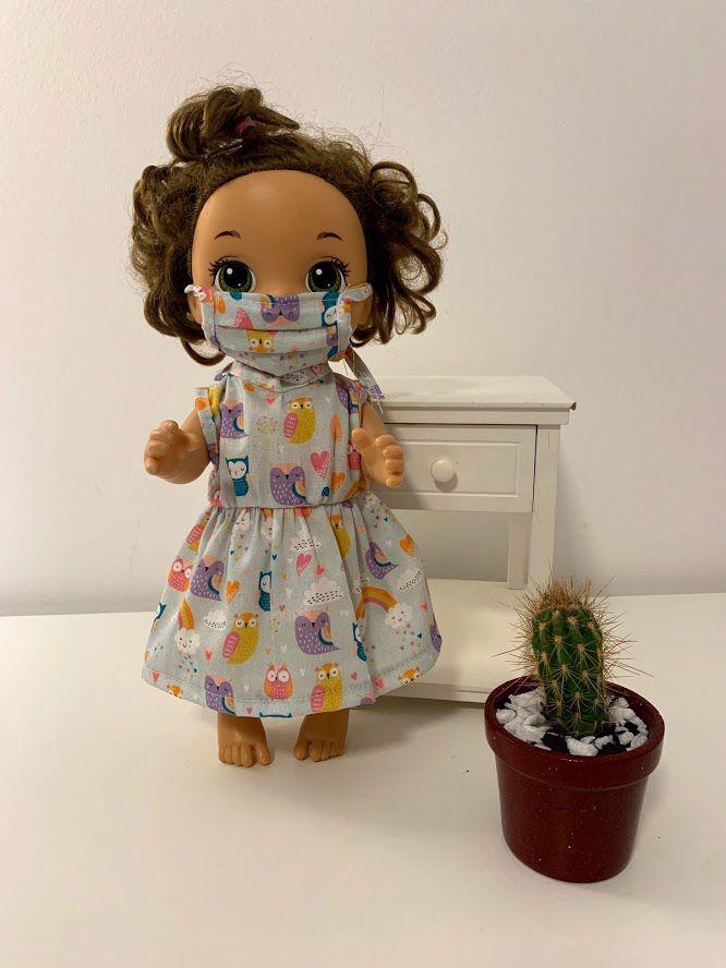 Vestido para Baby Alive (0054)