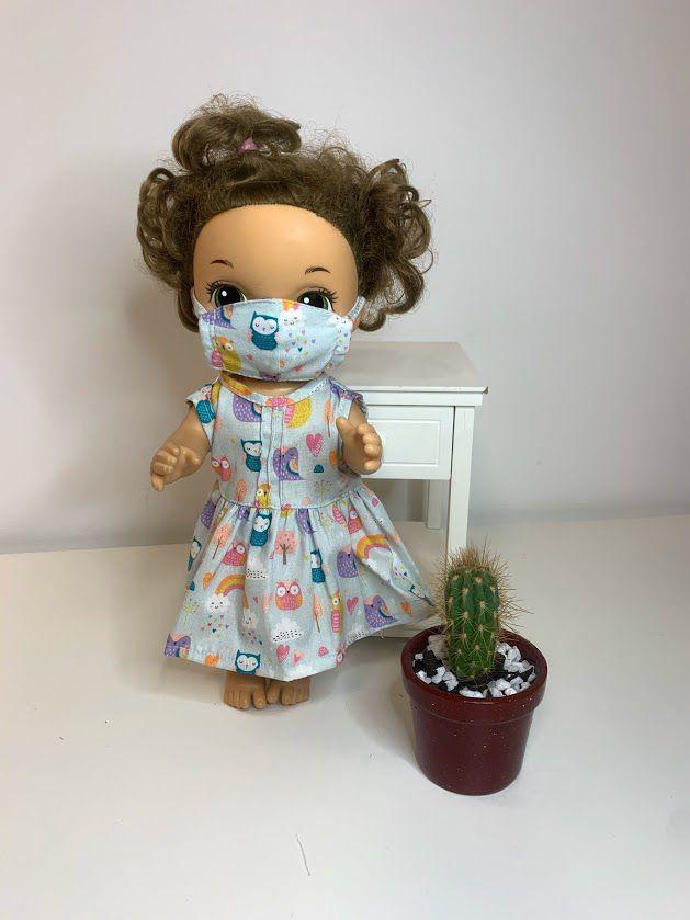 Vestido para Baby Alive (0065)