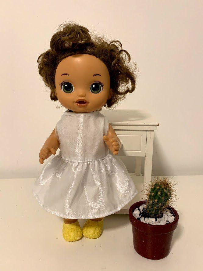 Vestido para Baby Alive (0032)