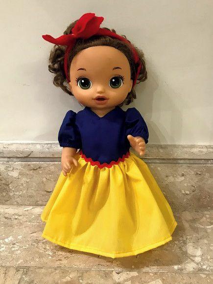 Vestido Princesa para Baby Alive (0001)
