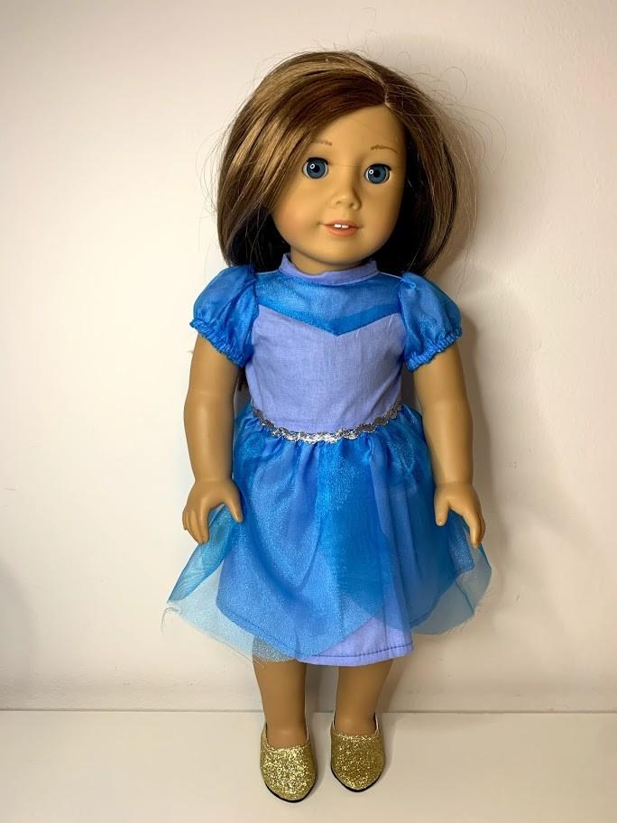 Vestido Princesa para American Girl ou Our Generation (0003)