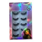 Cílios Magnéticos 5d Kit Com 5 Pares- Modelo F028 - Sabrina Sato