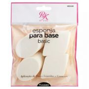 Esponja para Base Basic Com 4 unidades - RK by Kisses