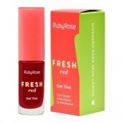 Gel Tint Cor Fresh/Red - 5,5ml - Ruby Rose