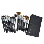 Kit Com 22 Pincéis Profissionais Para Maquiagem - Macrilan