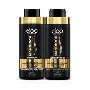 Kit  Mandioca Shampoo 450ml + Condicionador 450ml - Eico