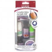Kit para Aplicação de Unhas Acrílicas - Complete Salon Acrylic Kit - KISS NY
