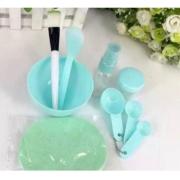 Kit Para Argila e Skin Care - 9 peças  - Verde