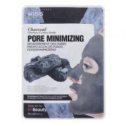 Máscara Facial de Algodão Carvão - Minimizador de Poros 1 unid - Kiss NY