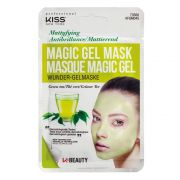 Máscara Facial Kiss New York - Magic Gel Mask Cha Verde - 1 Un