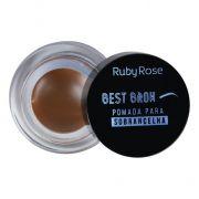 Pomada para sobrancelha Best Brown  Cor Light - Ruby Rose