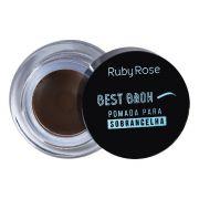 Pomada para sobrancelha Best Brown  Cor Medium  - Ruby Rose