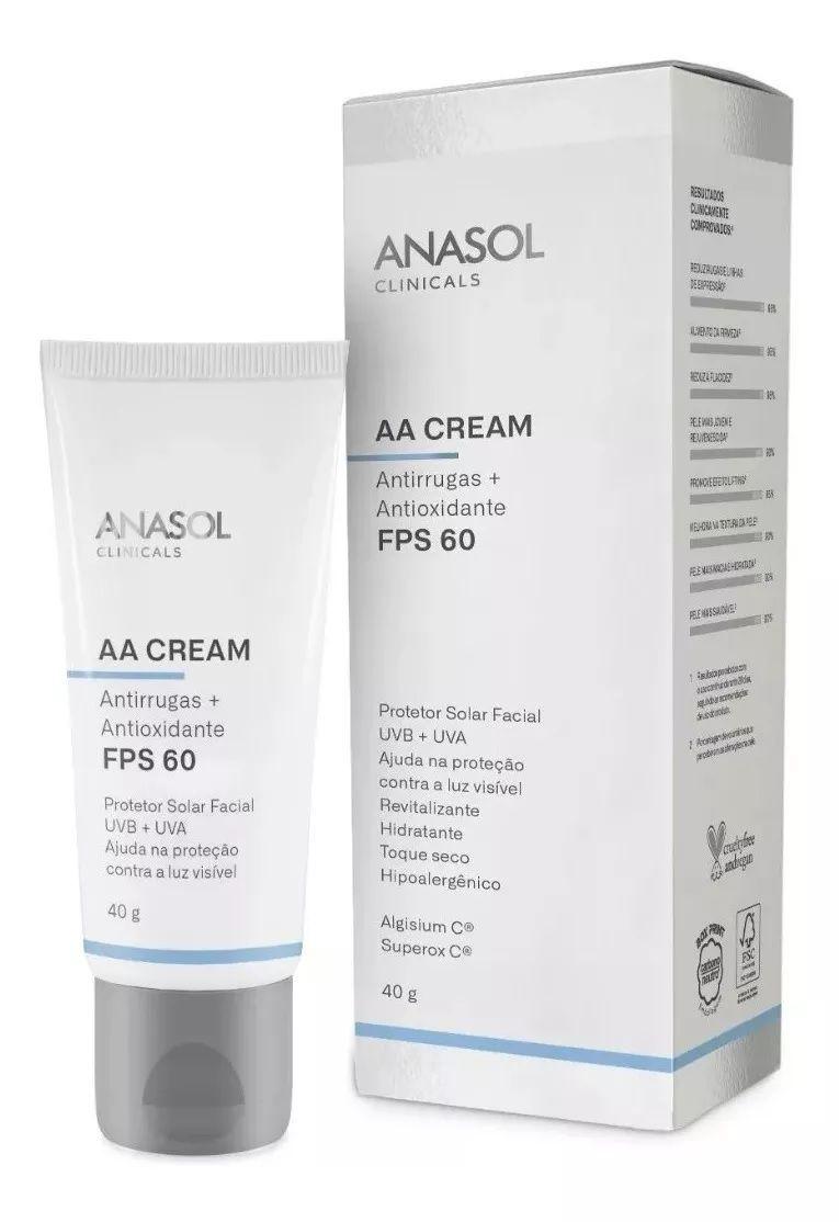 AA Cream FPS 60 Clinicals - 40g - Anasol