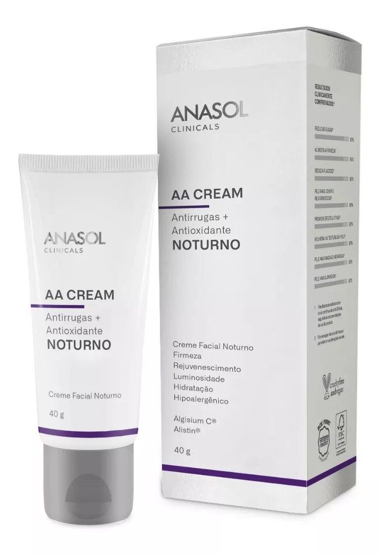 AA Cream Noturno Clinicals - 40g - Anasol