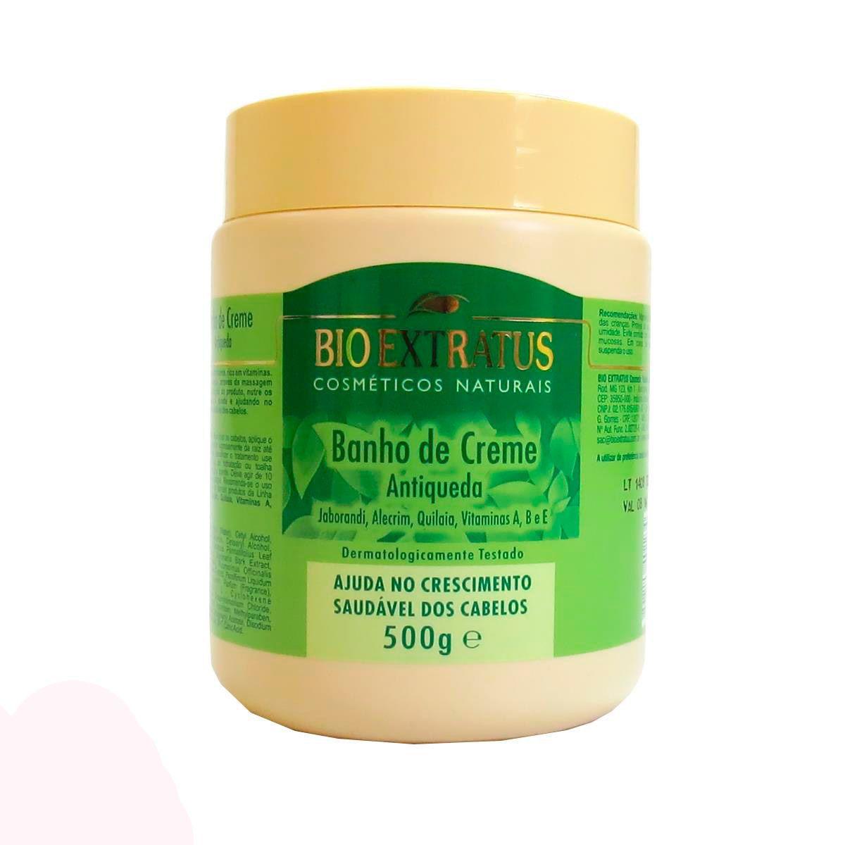 Banho de Creme Antiqueda Jaborandi - 500g -Bio Extratus