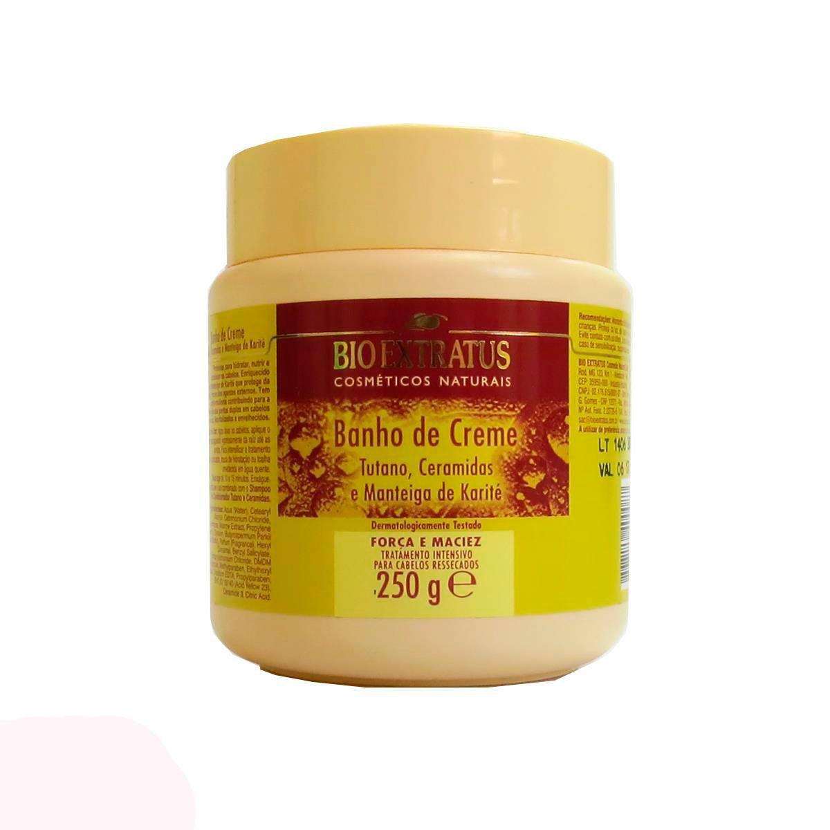 Banho de Creme Tutano e Ceramidas - 250g -Bio Extratus