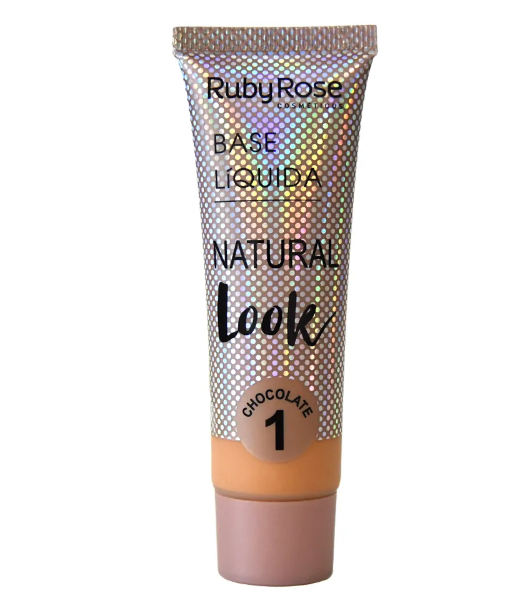 Base Líquida Natural Look Chocolate 1-29ml -Ruby Rose