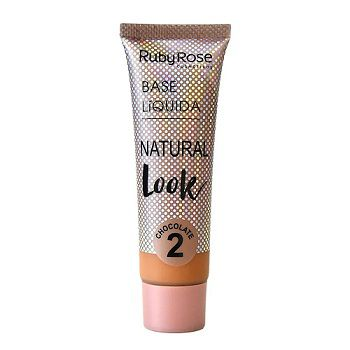 Base Líquida Natural Look Chocolate 2-29ml -Ruby Rose