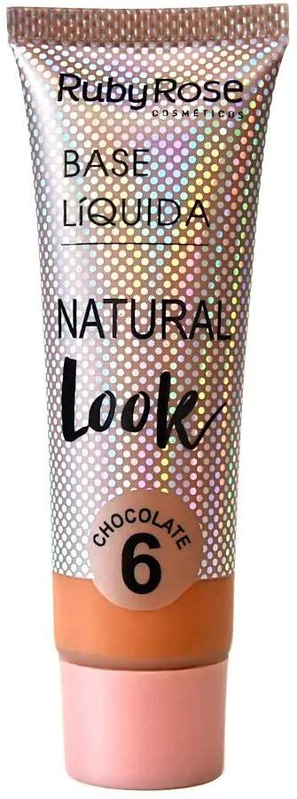 Base Líquida Natural Look Chocolate 6-29ml -Ruby Rose