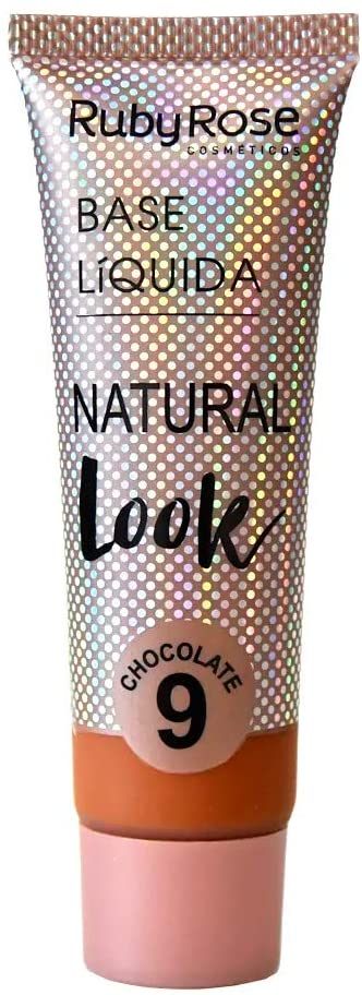 Base Líquida Natural Look Chocolate 9-29ml -Ruby Rose