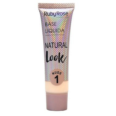 Base Líquida Natural Look Nude 1-29ml -Ruby Rose