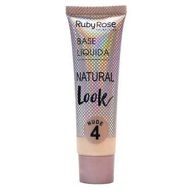 Base Líquida Natural Look Nude 4-29ml -Ruby Rose