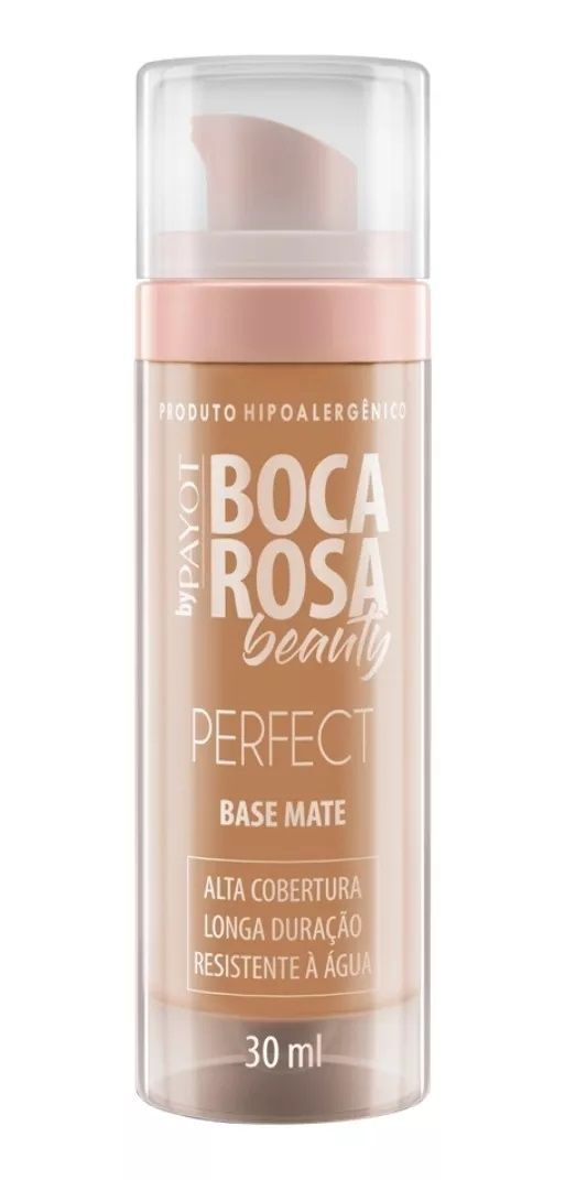 Base Mate HD cor 3 Francisca - 30ml - Boca Rosa Beauty