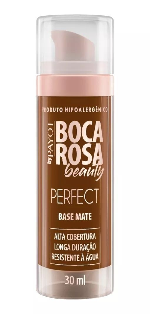 Base Mate HD cor 8 Fernanda - 30ml - Boca Rosa Beauty