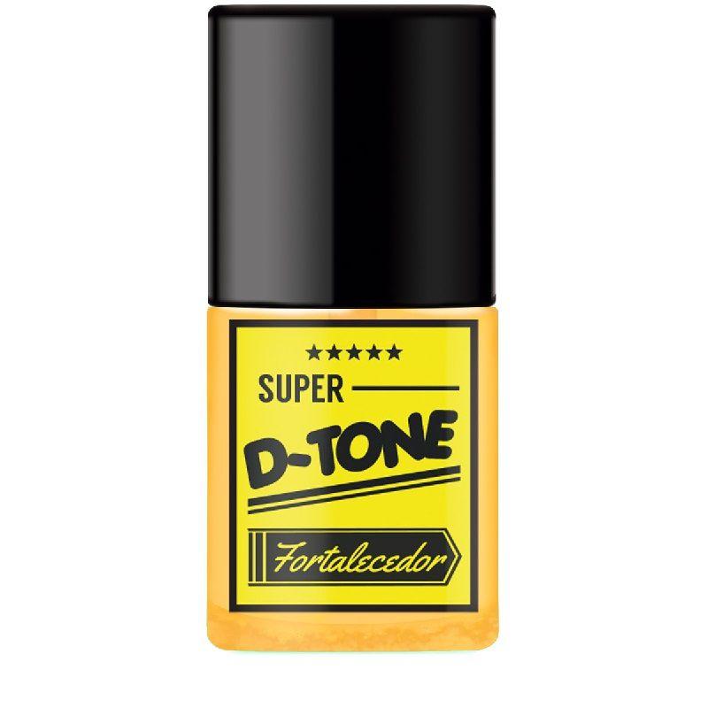 Base Super D-Tone Fortalecedor - 7ml-  SOS Unhas - Top Beauty