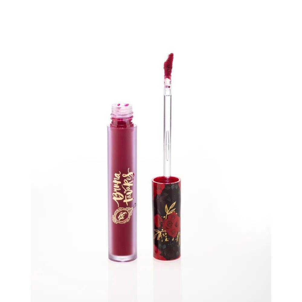 Batom Líquido Matte ANGELINA -Coleção Red Rose - 4ml - Bruna Tavares