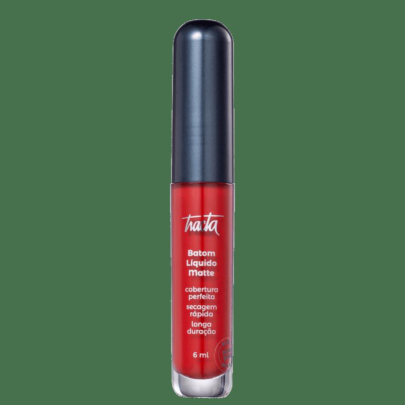 Batom Líquido Matte - Coleção Meu Vermelho - Escarlate - 6ml - Tracta