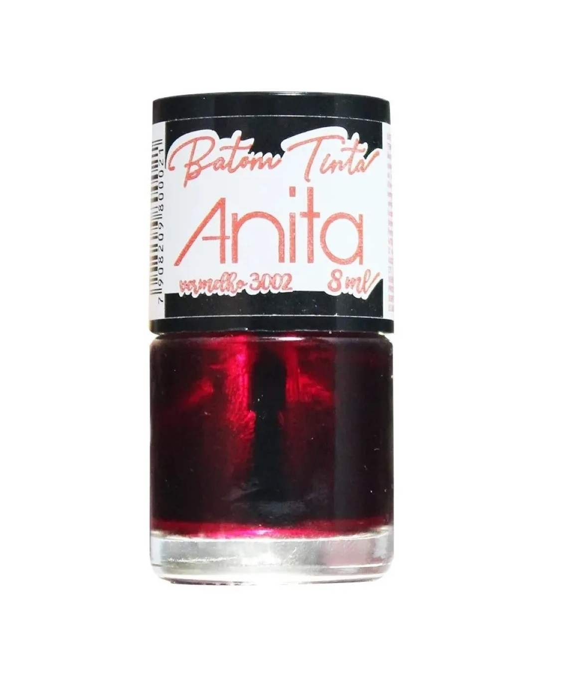 Batom Tinta Cor Vermelho 8ml - Anita
