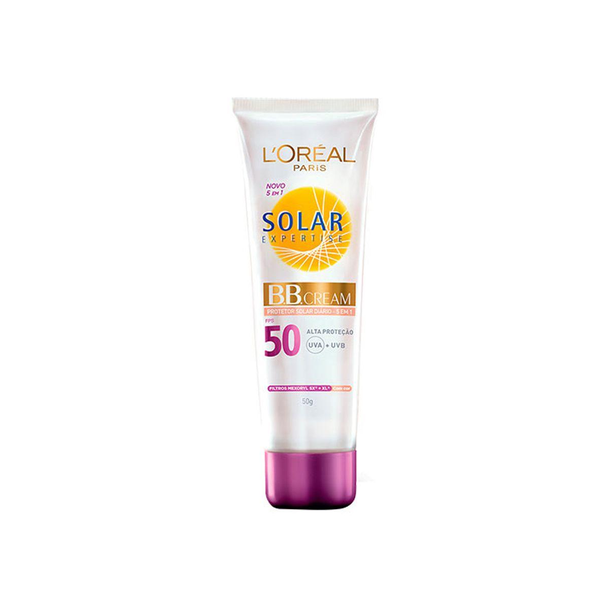 BB Cream  5em 1 Protetor Solar FPS50 - 50g - Loreal Paris