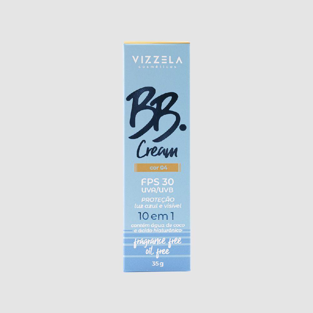 BB Cream fps 30 - Cor: 04 -35g - Vizzela