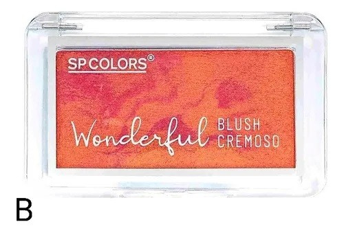 Blush Cremoso  Wonderful - Cor B - SP Colors