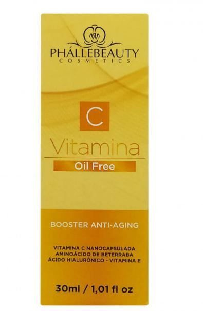 Booster Anti-Aging Vitamina C - 30ml- Phállebeauty