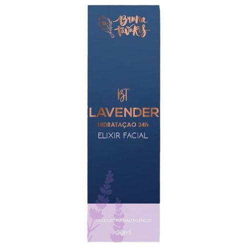 BT Lavander Hidratação 24hr - Elixir Facial  32ml - Bruna Tavares