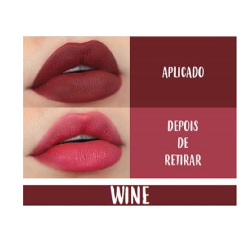 BT Maxlip  cor Wine  - 1,2g - Bruna Tavares
